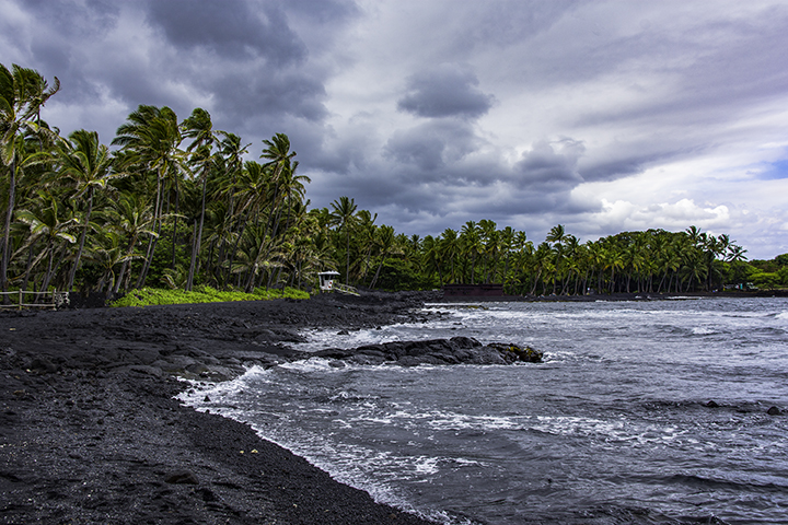 Big Island beaches.