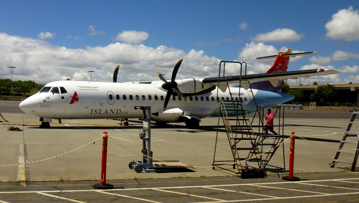 Hawaii inter island flights provider, Island Air